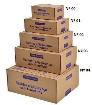 Caixa De Papelão para Correios ou E-commerce - Pardo - TIPO 01 (21X15X6,5) C/25 UN.