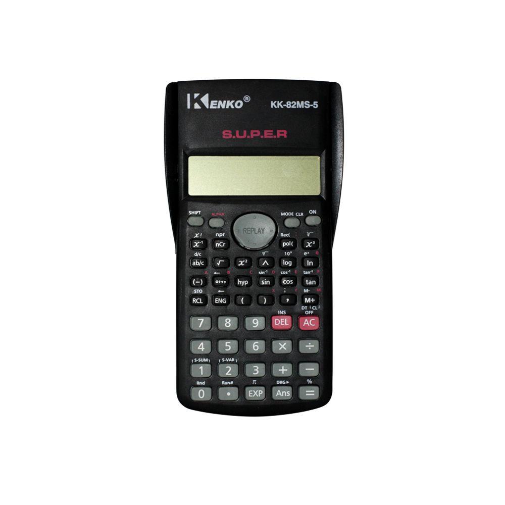 Calculadora Científica - KK-82MS-5 - Preta - 240 Funções - C/ Capa