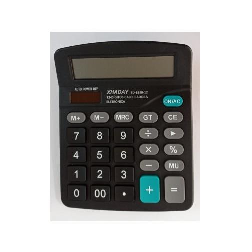 Calculadora XHADAY 838 12 Dígitos