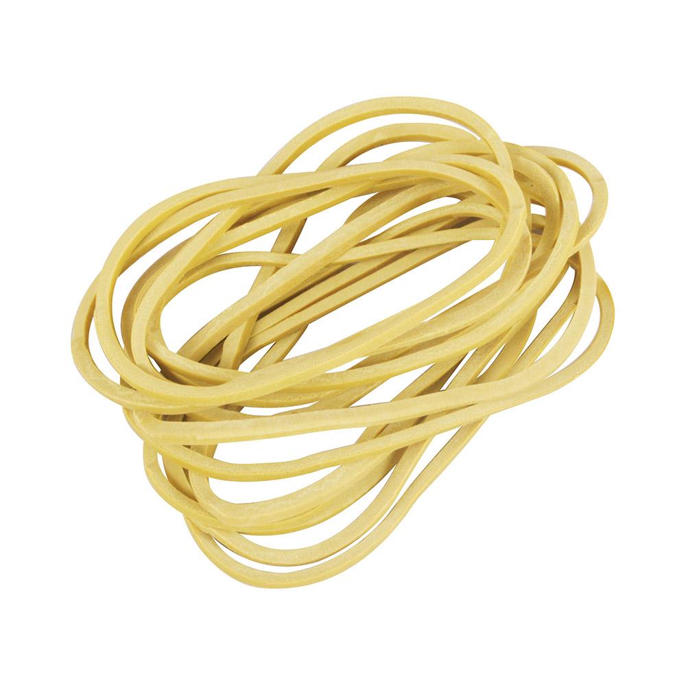 Elástico De Borracha Latex - Amarelo - 650 Unid -  (Pacote 500g)