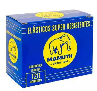 Elástico De Borracha Latex - Amarelo - 120 Unid -  (Pacote 100g)