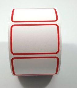 Etiqueta Para Preço Tarja 6 (Rolo 500 unid)