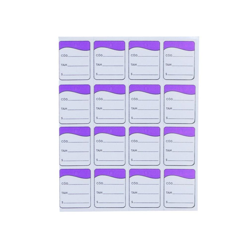 Etiqueta Tag - Lilas (Pacote 1.000 unid)
