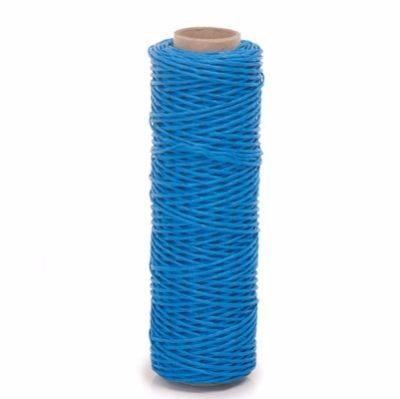 Fio Kraft Para Laço e Decoração - Grosso - Azul Claro - Rolo 25 metros