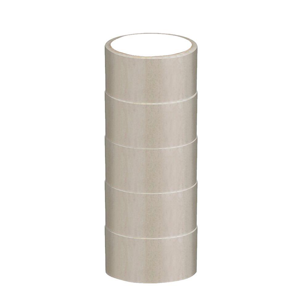 Fita Adesiva de Pvc - Transparente - 45mm x 45m (Pacote 5 unid)