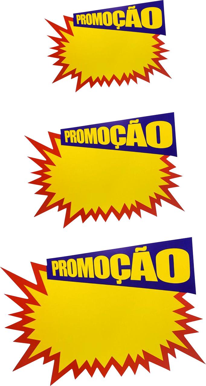 Placa De Preço Promoção Cartaz C/10 Unidades