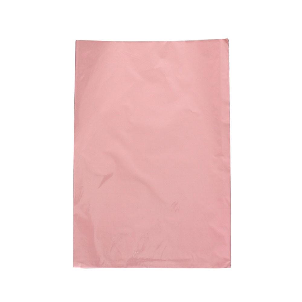 Saco de Presente Metalizado - 20X29cm, 25X35cm ou 30X44cm - Rosa 717 - PCT (50 Unid.)