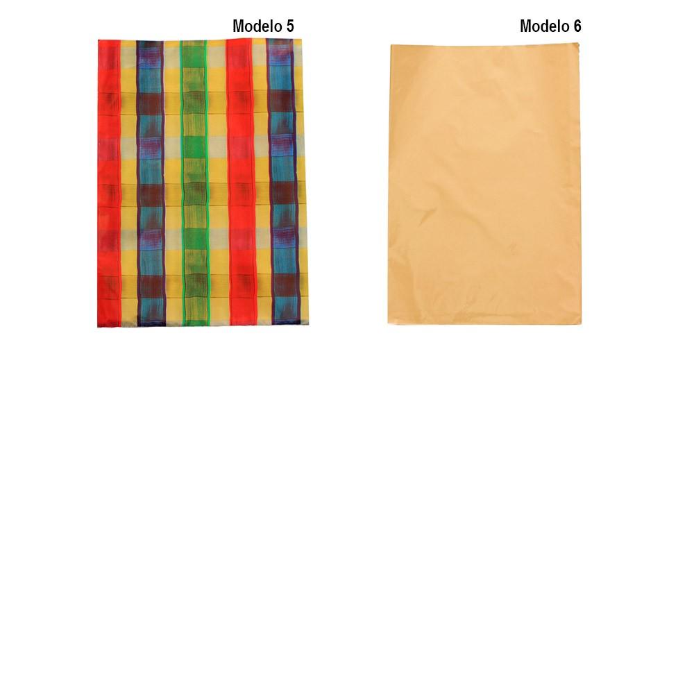Saco de Presente Metalizado 25x35cm - Adulto Geral - 50 unid
