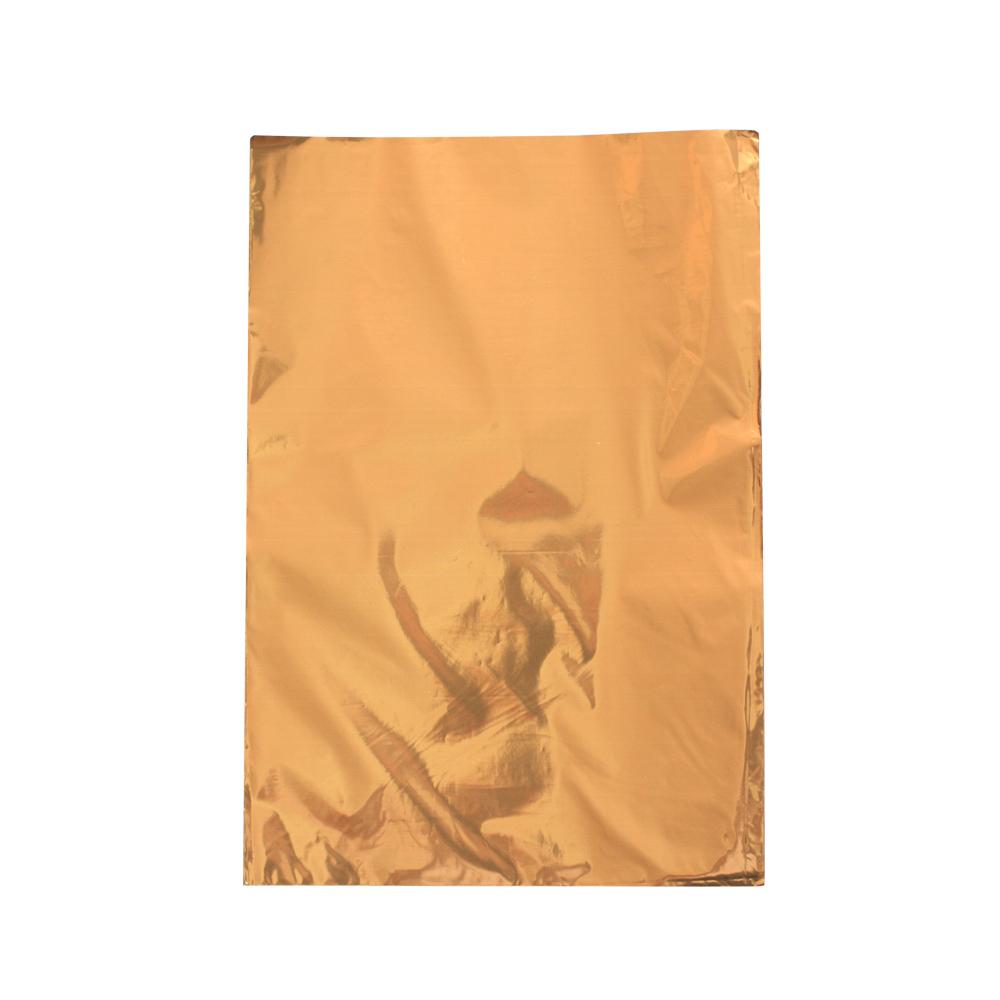 Saco de Presente Metalizado - 25x35cm - Ouro 704 (PCT 50 unid)