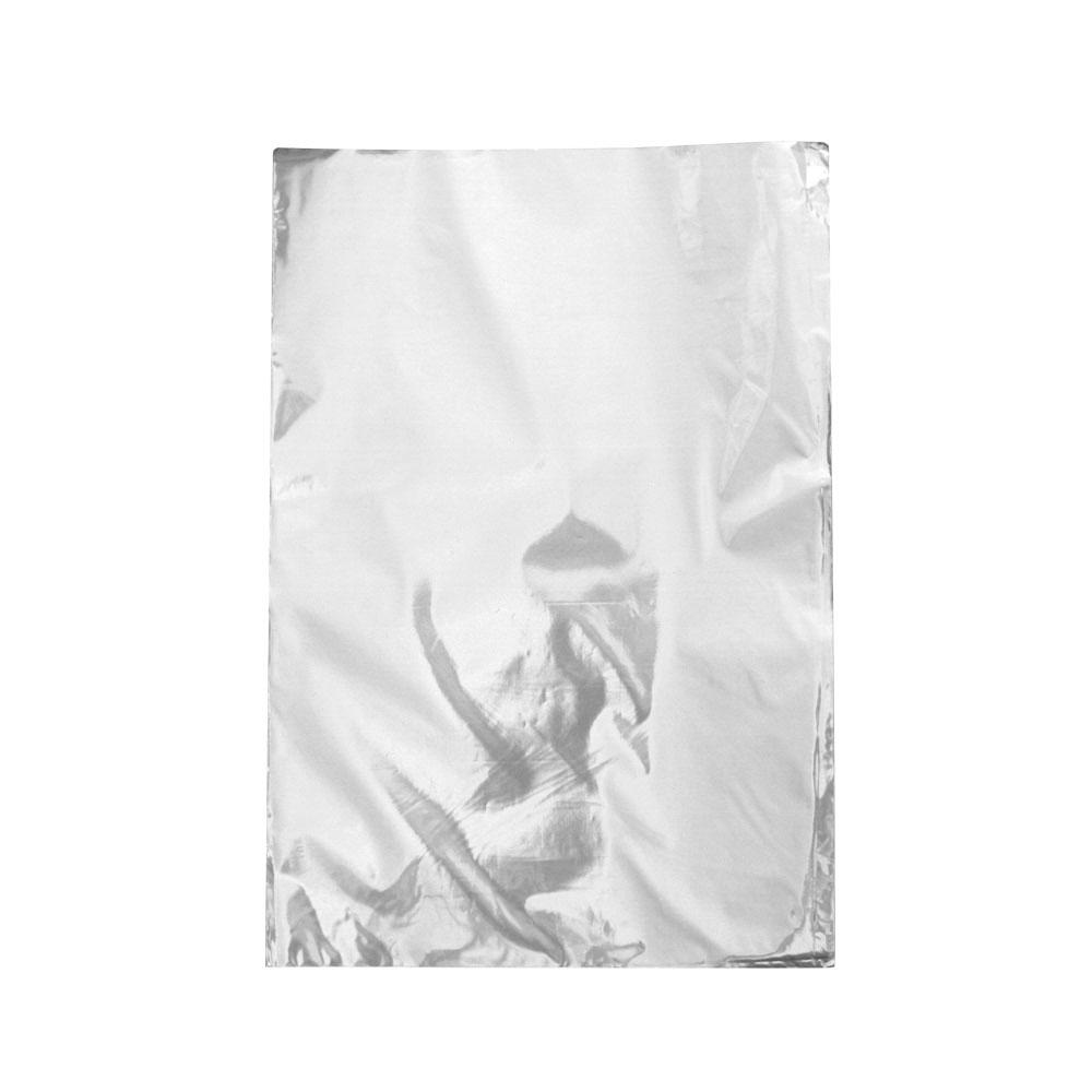 Saco de Presente Metalizado - 25x35cm - Prata 700 (PCT 50 unid)