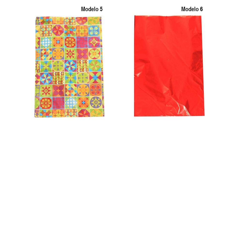 Saco de Presente Metalizado 30x44cm - Infantil Geral 50 unid