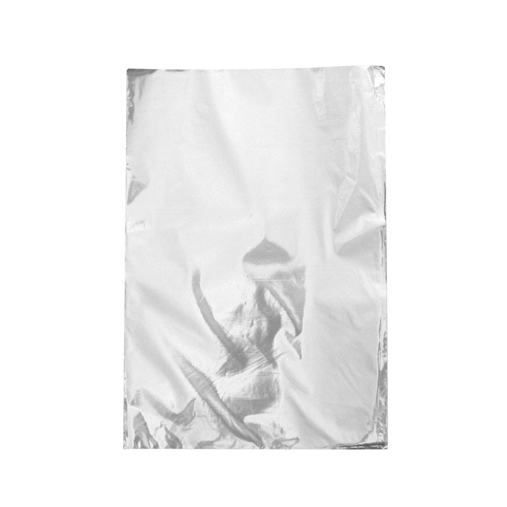 Saco de Presente Metalizado - 30x44cm - Prata 700 (PCT 50 unid)