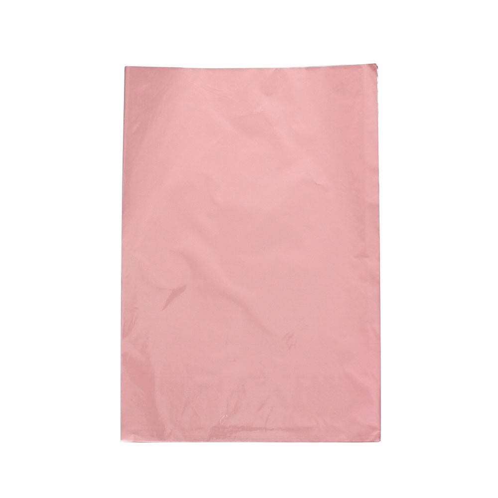 Saco de Presente Metalizado - 30x44cm - Rosa 717 (PCT 50 unid)