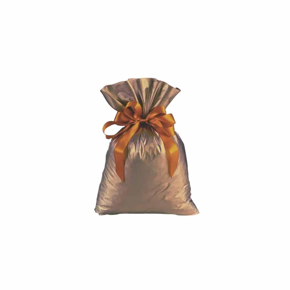 Saco de Presente Metalizado Soft - Bronze - 20X30cm ou 30X45cm - PCT (50 Unid.)