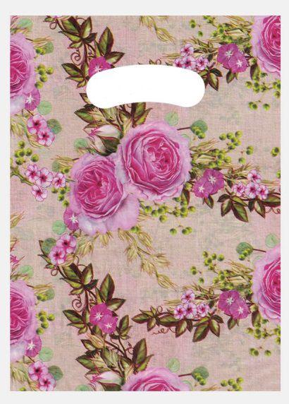 Sacola Boca Vazada (todas as rosas) 30x40 - 50 unidades