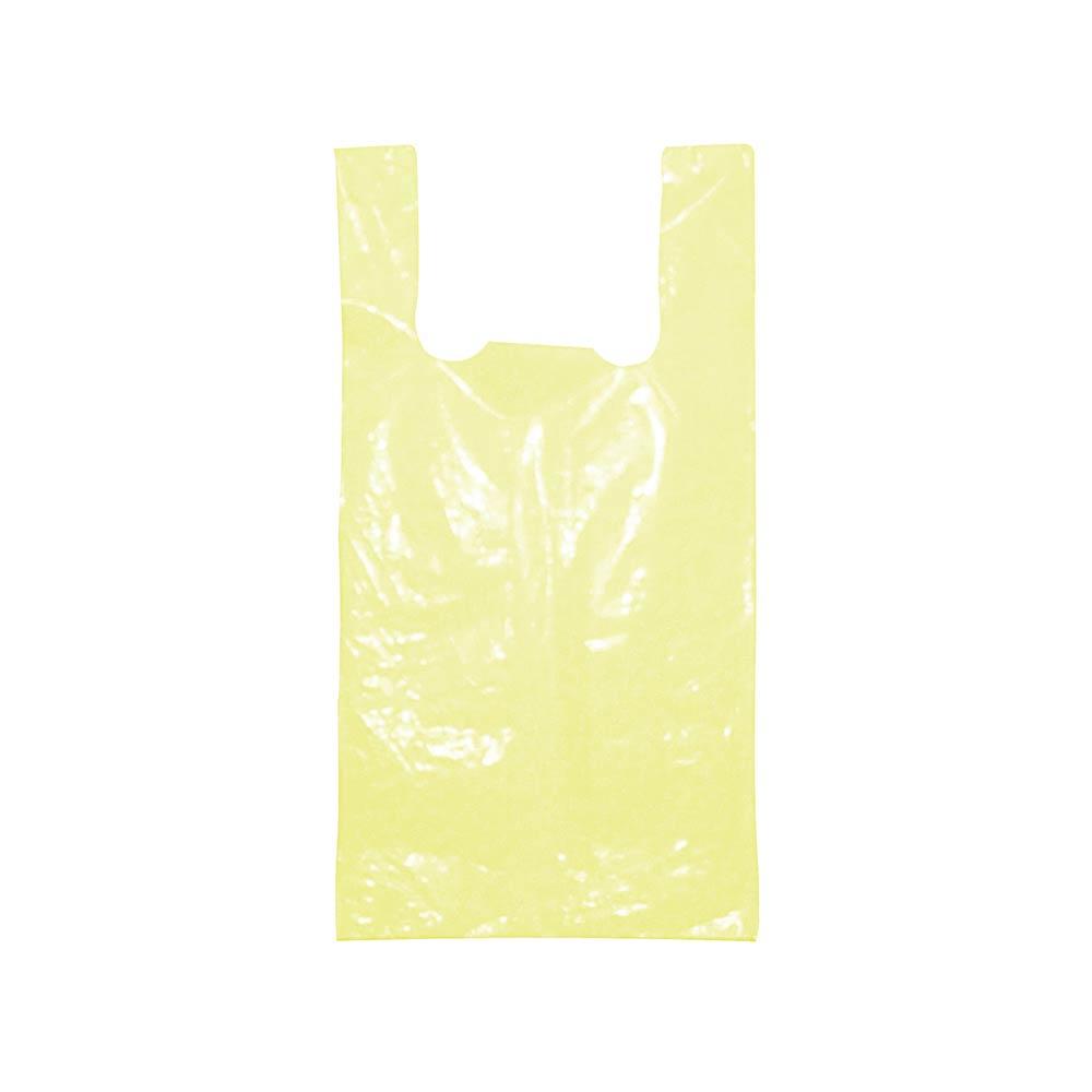 Sacola plástica Alça Camiseta Colorida - Várias Cores - 30x40cm - Pacote 155 unid (1 KG)