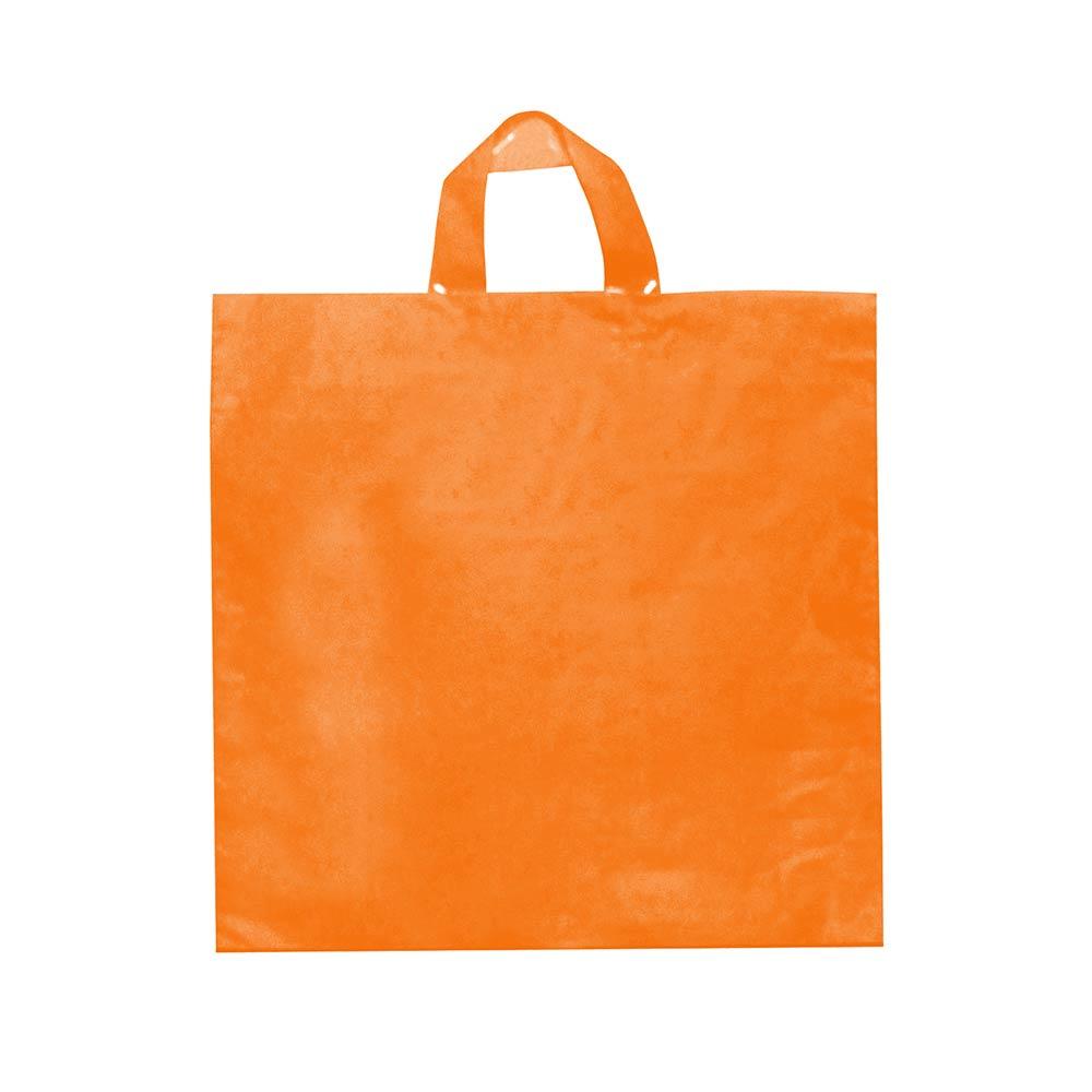 Sacola plástica Alça Fita Lisa - Várias Cores - 45x55 - Pacote 27 unid (1 KG)