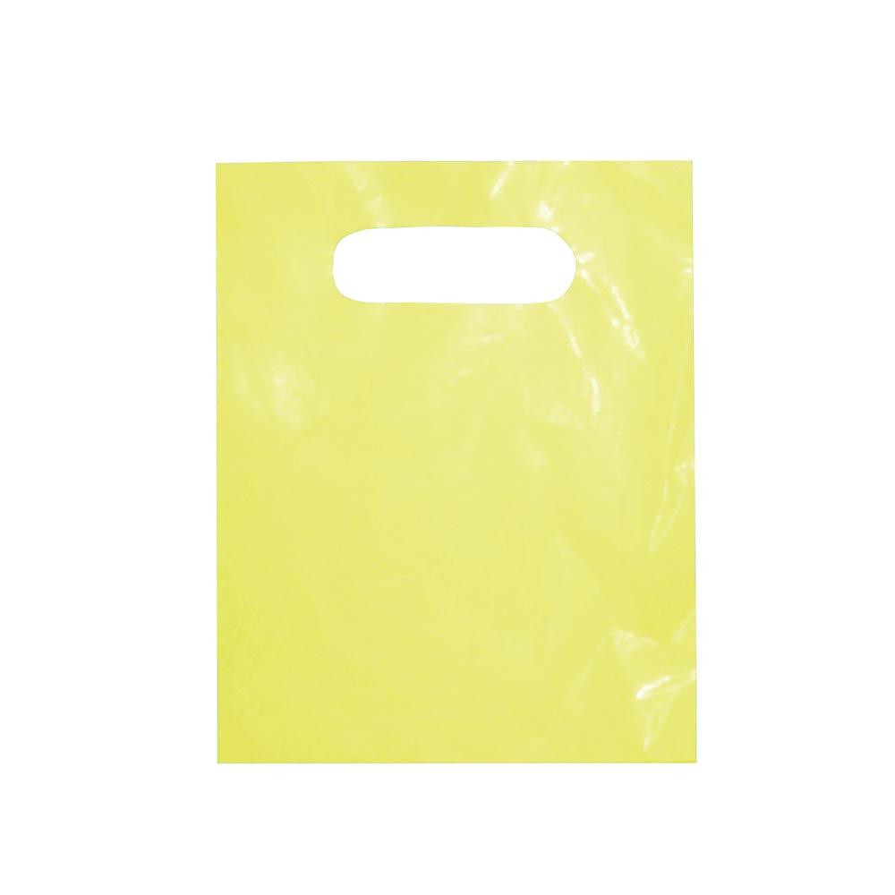Sacola plástica Boca de Palhaço Lisa - Várias Cores - 16x20cm - Pacote 315 unid (1 KG)