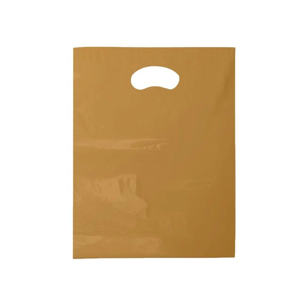 Sacola Plástica Boca de Palhaço Reciclada - 16X20cm - Pacote 210 unid (1 KG)