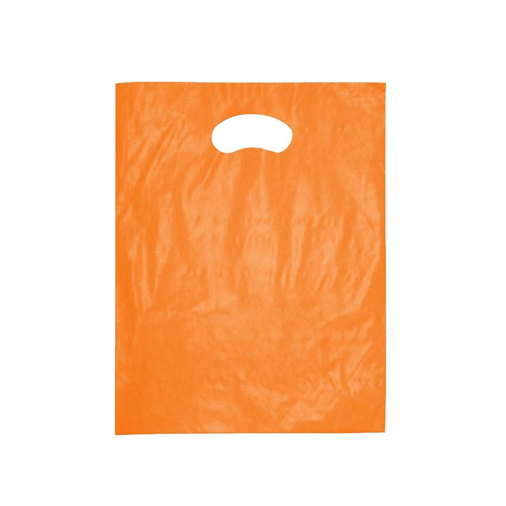 Sacola Plástica Boca de Palhaço Reciclada - 25x35cm - Pacote 85 unid (1 KG)