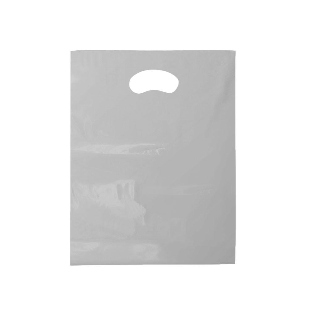 Sacola Plástica Boca de Palhaço Reciclada - 40x50cm - Pacote 30 unid (1 KG)