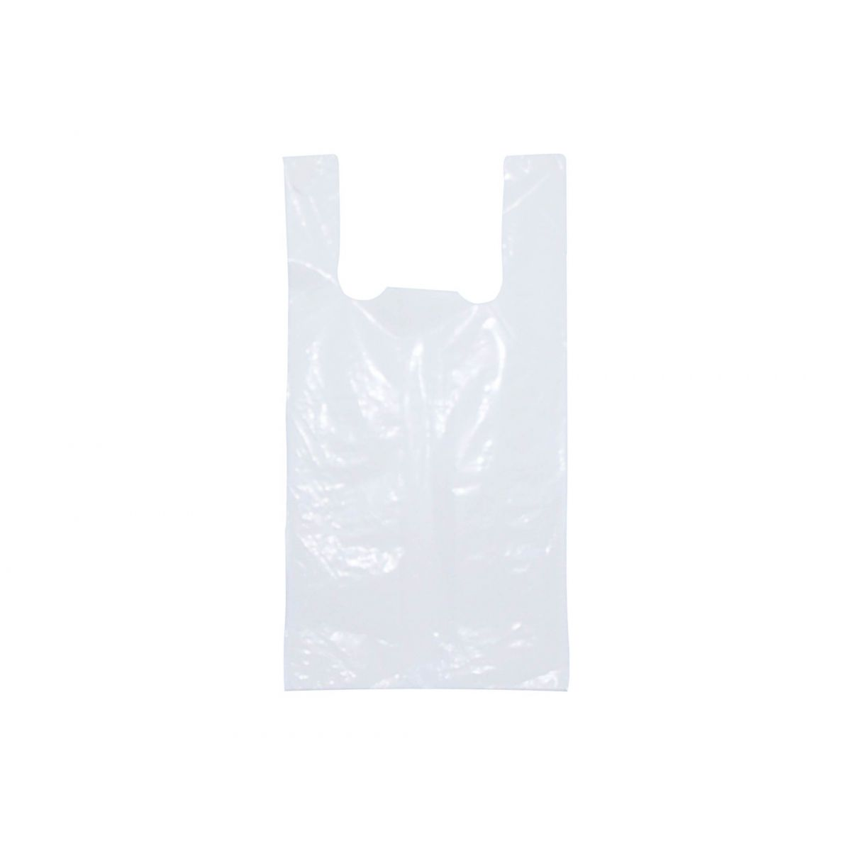 Sacola plástica Branca (espessura fina)- 38x48cm - Pacote 1000 unid