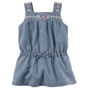 Bata Carters Bordada Chambray
