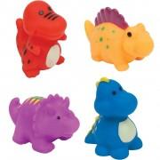 Bichinhos para Banho Buba Animais Dinossauros com 4 unidades
