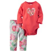 Calça e Body Love Carters