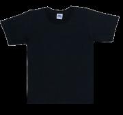 Camiseta Básica Preta Menino Bicho Bagunça