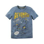 Camiseta Carters Dinossauros no Espaco