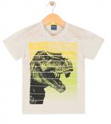 Camiseta Dino Rex Amarela TileeSul