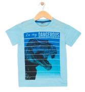 Camiseta Dino Rex Azul TileeSul