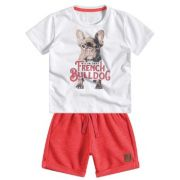 Camiseta e Bermuda Milon French Bulldog
