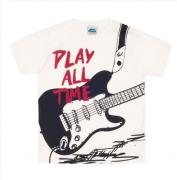 Camiseta Guitarra Cru Bicho Bagunça