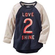 Camiseta Oshkosh Manga Longa Love