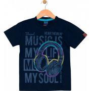 Camiseta Music Marinho TileeSul