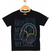 Camiseta Music Preta TileeSul