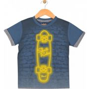 Camiseta Skate Azul TileeSul