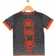 Camiseta Skate Cinza TileeSul