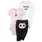 Conjunto Carters 3 peças Menina Panda