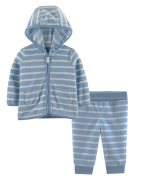 Conjunto Fleece Carter's Azul