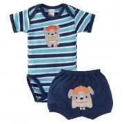 Conjunto Infantil Best Club Menino Cachorrinho