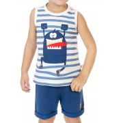 Conjunto Infantil Little Monster