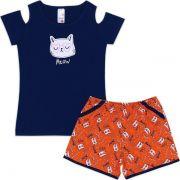 Conjunto Infantil Meow Analê