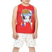 Conjunto Infantil Regata Monkey