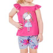 Conjunto Little Girl Bicho Bagunça
