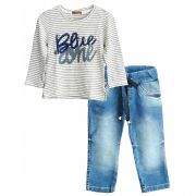 Conjunto Ópera Kids Jeans