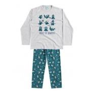Pijama Kyly Brilha no Escuro Fantasminha