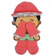 Kit Bebe touca, luva e meia Hug Baby Menina